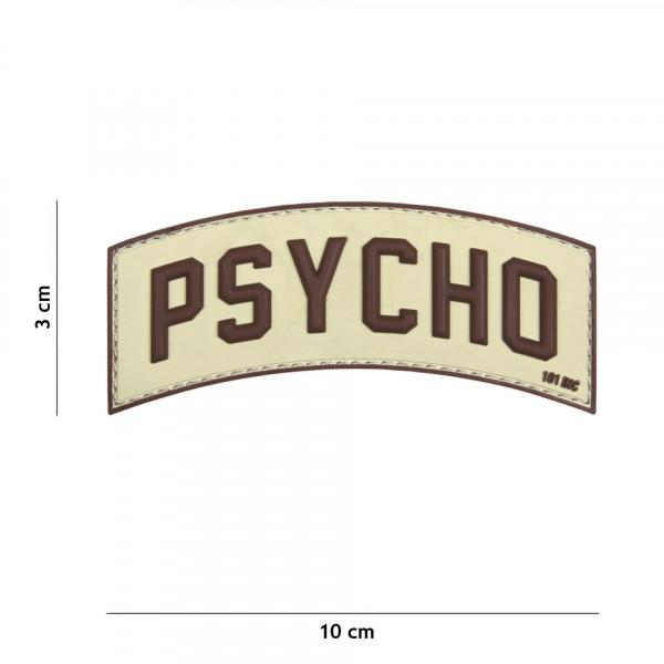 Patch 3D PVC Psycho sand