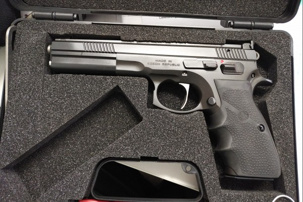 """Cz 75 Sport 2 Pro Tuning 6"""" 9mm Luger"""