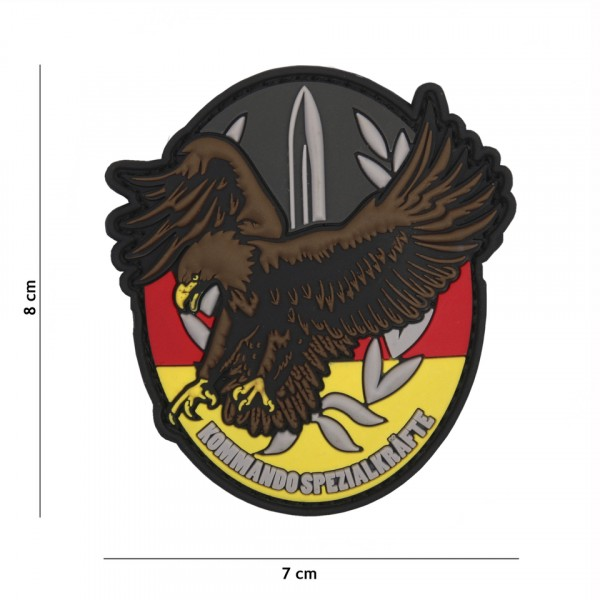 Patch 3D PVC Kommando Spezial Kräfte