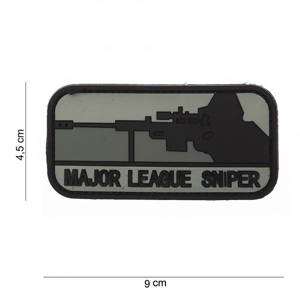 Patch PVC major league sniper dark