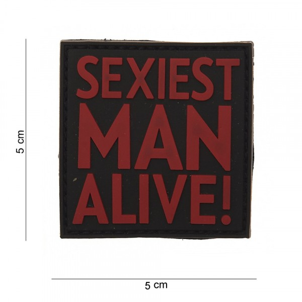 Patch PVC Sexiest man alive