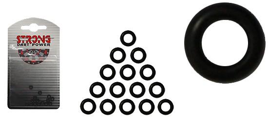 STRONG O Rings 15er Pack black