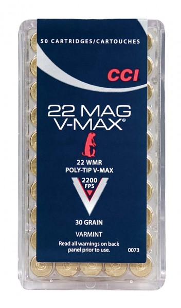 CCI .22WMR V-Max 30Gr.